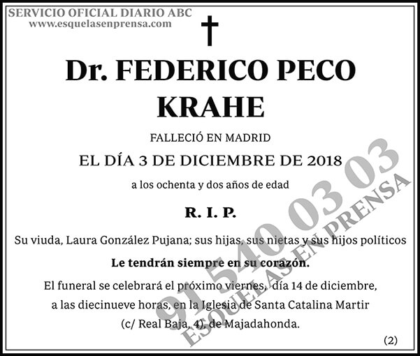 Federico Peco Krahe